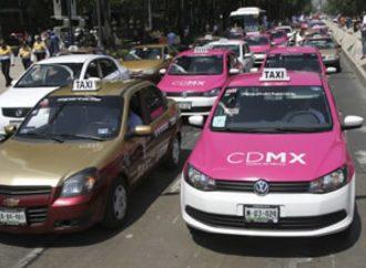 Taxistas bloquearán nuevamente la CDMX