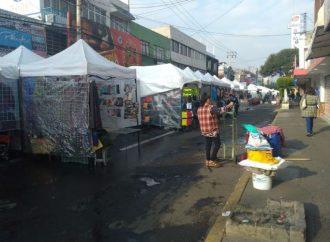 Caen ventas de comercio establecido; denuncian contubernio de las autoridades de Tlalnepantla con Ambulantaje
