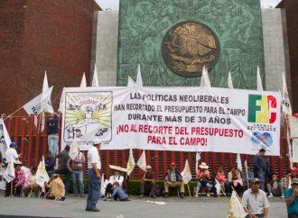 Descalifica AMLO Bloqueos de Organizaciones campesinas que protestan en San Lázaro