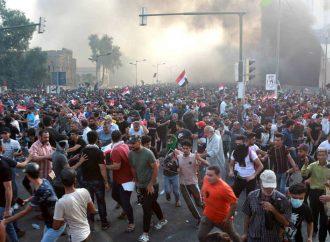 Protestas en Irak dejan 269 muertos y 8,000 heridos