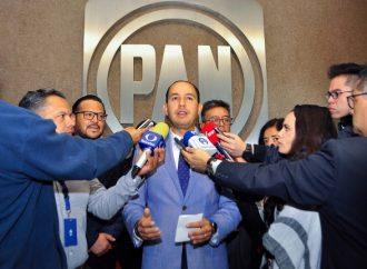 Necesario golpe de timón en economía y seguridad, queremos que a México le vaya bien: Marko Cortés