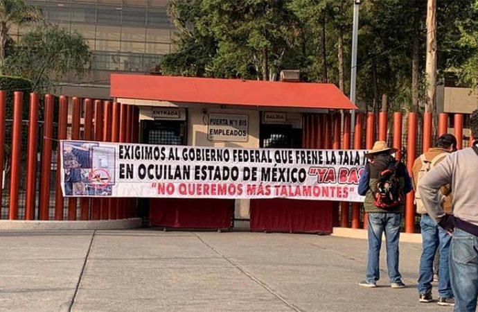 Campesinos Obligan a Suspender sesión en la Cámara de Diputados