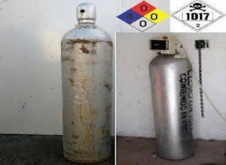 Lanzan Alerta por robo de cilindro de gas cloro