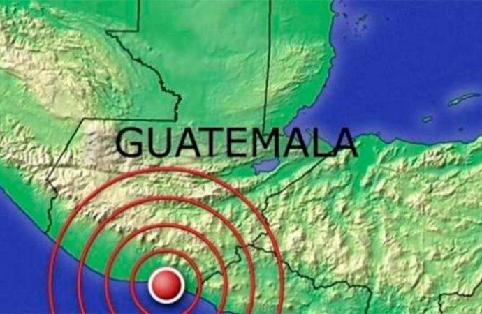 Terremoto de 5.6 sacude el sur de Guatemala