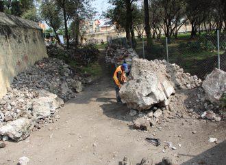 A tres años del 19S reconstruyen templos e inmuebles culturales en Xochimilco