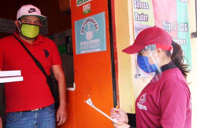 Orientadores Covid visitarán a más de 10 mil establecimientos en Xochimilco