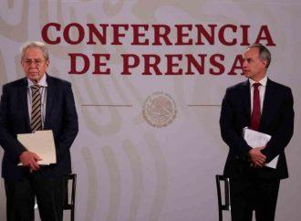 Ante cifras de Covid, comparecerán en el Senado Alcocer y López-Gatell