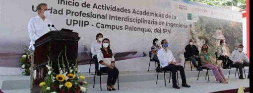 Inauguran Unidad Profesional Interdisciplinaria de Ingeniería, campus Palenque, del IPN