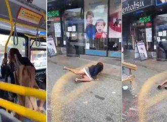 Mujer sin cubrebocas le escupe a joven en camión; así reaccionó él