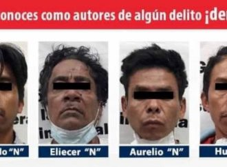 Caen 4 hombres por asesinato de niña en Guerrero