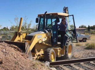 Campesinos liberan vías del tren en Chihuahua