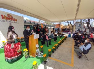 Alcaldía Xochimilco da inicio a espectáculos de Día de Muertos