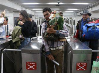 Cierran acceso de Metro Hidalgo por celebración de San Judas