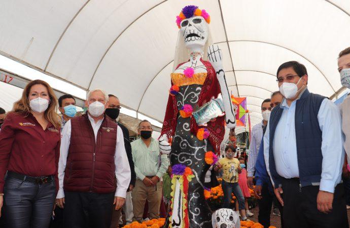 Desde los tres niveles de gobierno reactivará Xochimilco mercados de flores y plantas