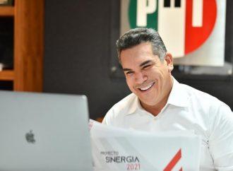 Los trabajadores de la salud cuentan con el PRI: Alejandro Moreno