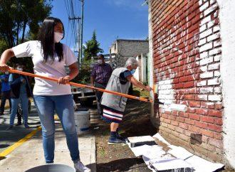 Recuperan entorno urbano para mejorar seguridad en M. Contreras