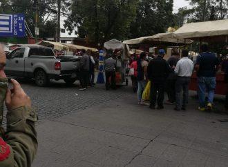 Se desborda comercio en el Centro Histórico de Coyoacán