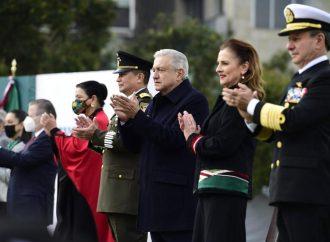 AMLO conmemora 110 Aniversario de la Revolución