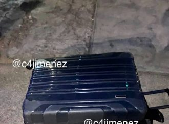 Un adolescente de 14 años, el 'enmaletado' en la Guerrero