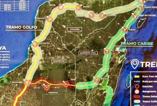 Autoriza Semarnat de manera 'condicionada' construcción de Tren Maya