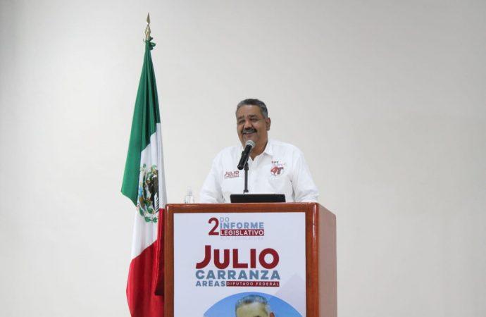 Manejo de recursos autogenerados del Tecnológico Nacional de México debe homologarse con la UNAM y el IPN: Diputado Julio Carranza