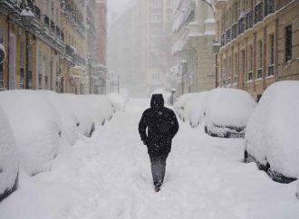 Vórtice polar sería responsable de poderosas nevadas en España y EU