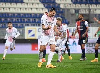 Zlatan afianza al AC Milán en la cima de la Serie A