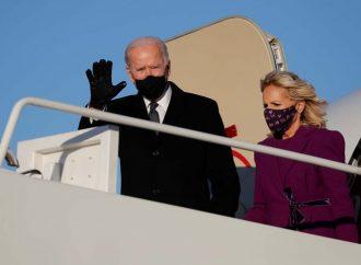 Así llega Biden a Washington para asumir presidencia de EU