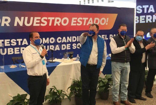 PAN y PRI formalizan alianza por gobierno de Sonora