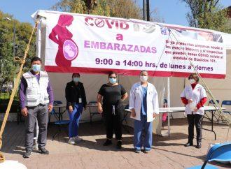 Brindará Xochimilco atención prioritaria a embarazadas para pruebas Covid