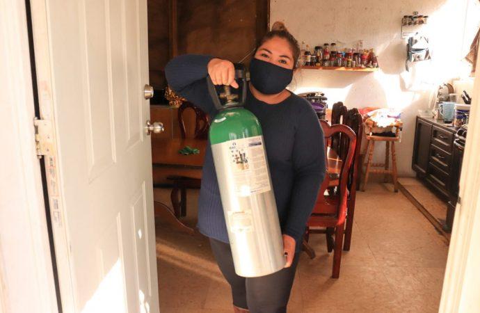 Exhorta Xochimilco a vecinos a rentar, vender o donar tanques de oxígeno