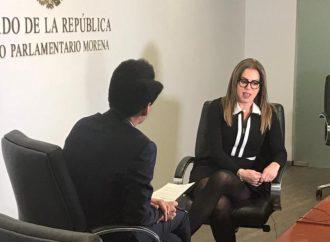 La elección de 2021 será un freno o un aval para que el presidente López Obrador siga con su Proyecto de Nación: Brenda Calderón