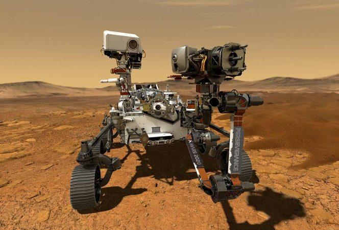 Así aterrizó el Perseverance en Marte; la NASA revela video