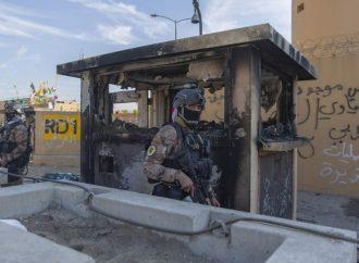 Lanzan cohetes contra embajada de EU en Irak