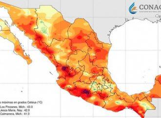 Se calienta México a velocidad más acelerada que el resto del planeta