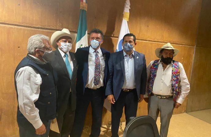 Participan de megaproyecto de desarrollo turístico, social y económico de Yuriria al gobernador de Guanajuato