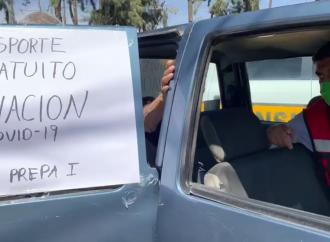 Brinda Xochimilco transporte gratuito hacia puntos de vacunación