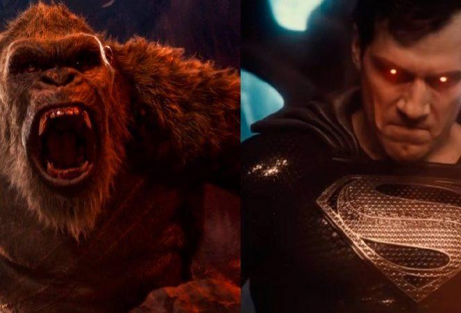 Godzilla vs Kong vence a Liga de la Justicia en streaming