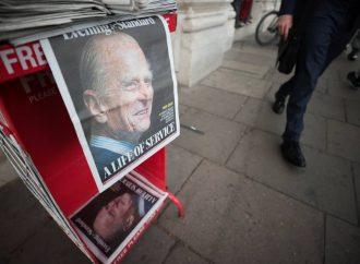 Así despide la prensa británica al príncipe Felipe