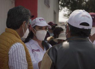 Siguen sumándose metepequenses al proyecto de Gaby Gamboa
