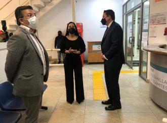 Con la legalidad que le dio el INE, Sandra Cuevas recorre la alcaldía Cuauhtémoc acompañada de Néstor Núñez