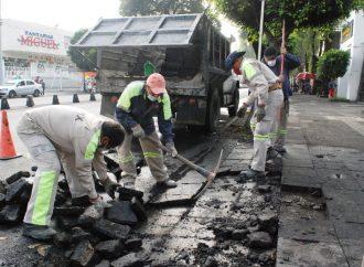 En Xochimilco se mejora imagen urbana