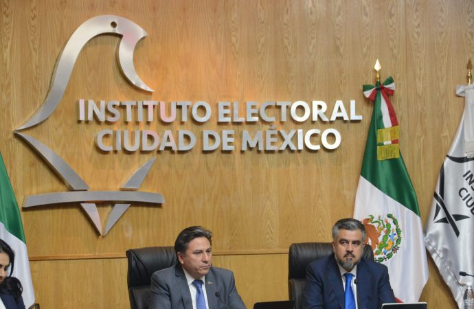 IECM prepara proceso electoral 2018