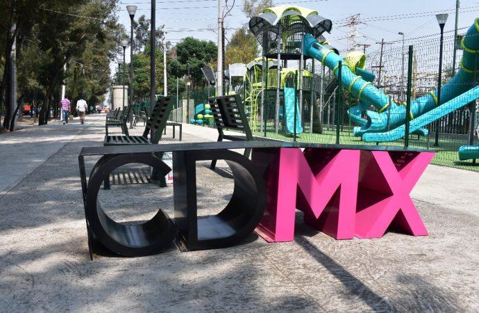 Disfrutan más de 3,500 personas parque lineal Churubusco