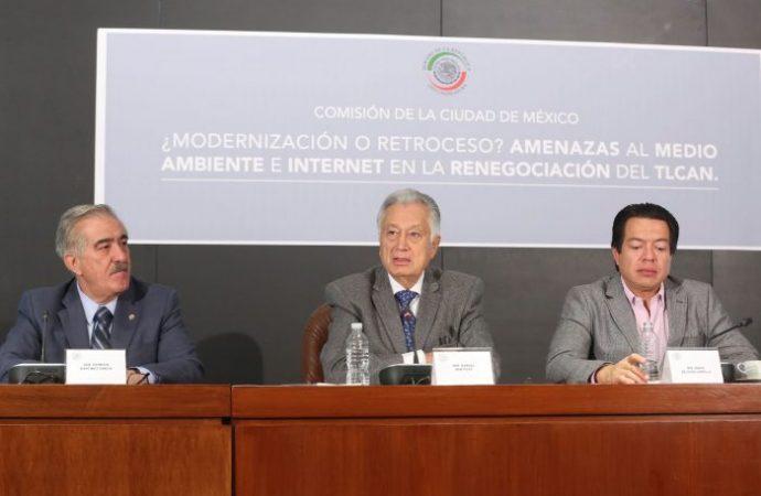 Indispensable salvaguardar los intereses de México durante negociaciones del TLCAN, piden en el Senado