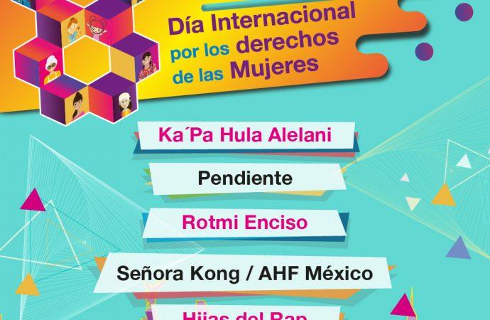 Invita GCDMX a conmemorar el 8 de marzo en Zócalo capitalino