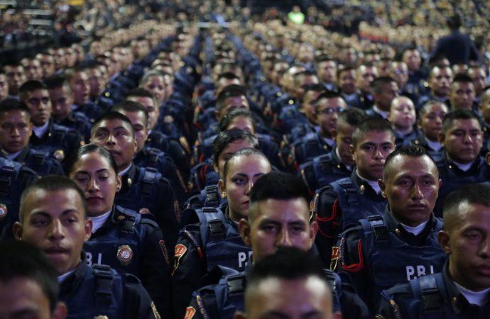 GCDMX otorga ascensos a más de 28 mil policías