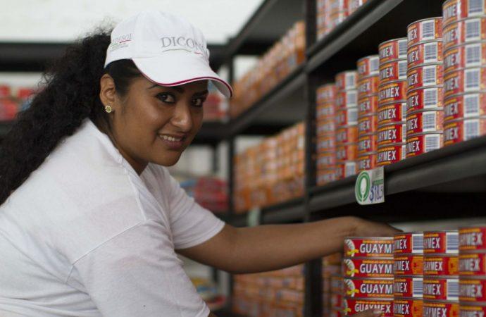 Más de 15 mil 900 tiendas Diconsa están a cargo de mujeres