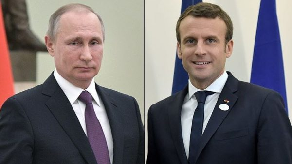 "Macron pide a Putin tregua ""real"" en Siria"
