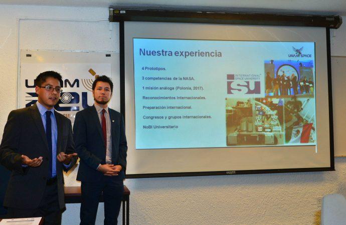 """Se conforma """"UNAM SPACE"""" como Asociación Estudiantil y prepara una segunda generación"""